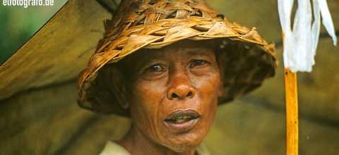 Mann auf Bali
