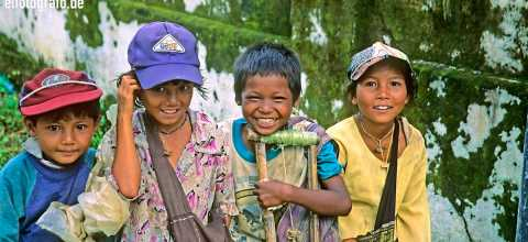 Kinder in Burma