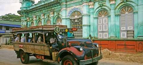 Öffentlicher Nahverkehr in Burma