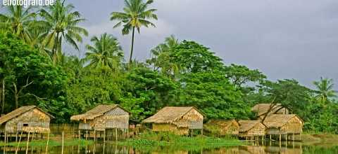 Bungalows in Burma