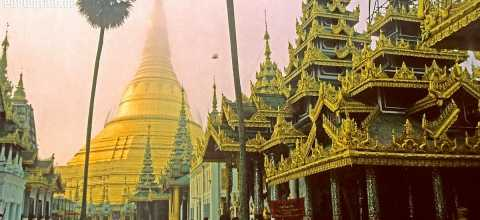 Tempel in Burma