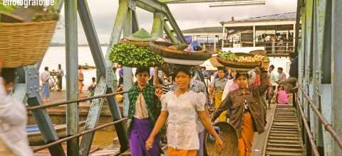 Marktfrauen in Burma