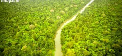 Fluss in Costa Rica