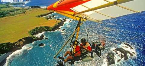 Ultra Leichtflug über Hawaii