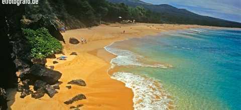 Strand auf Hawaii