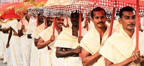 Mönche in Indien