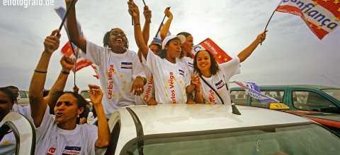 Wahlkampagne auf den Kapverden