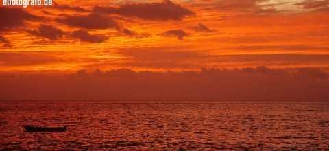 Sonnenuntergang auf den Kapverden