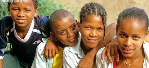 Jugendliche auf den Kapverden