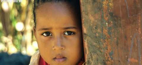Kind auf den Kapverden