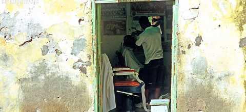 Friseur auf den Kapverden