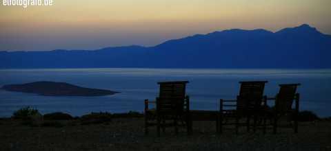 Dämmerung auf Kreta
