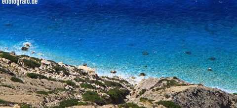 Felsenküste auf Kreta