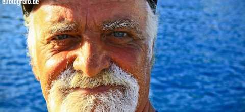 Mann auf Kreta