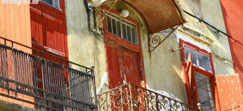 Fassade auf Kreta