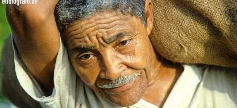 Kaffee Arbeiter auf Kuba