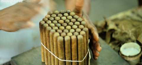Zigarrenherstellung auf Kuba