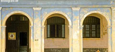 Fassade auf Kuba