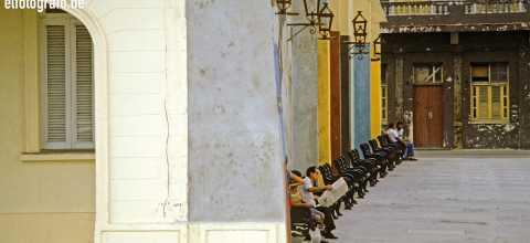 Platz in Havana