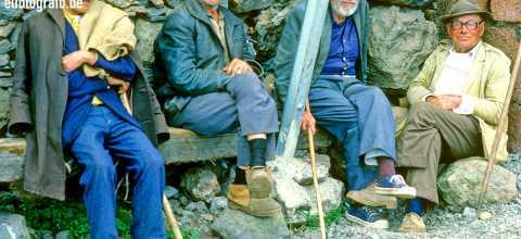 Alte Männer auf La Gomera
