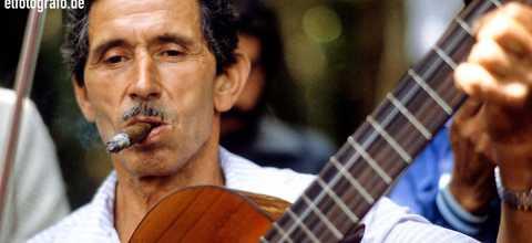 Gitarrist auf La Gomera