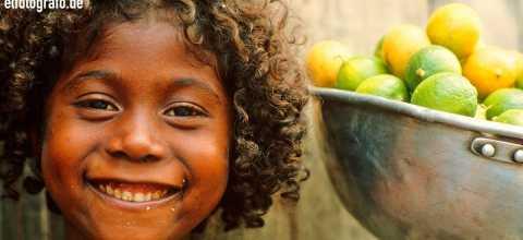 Kind auf La Gomera