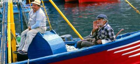 Fischer auf La Gomera
