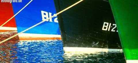 Fischerboote auf La Gomera