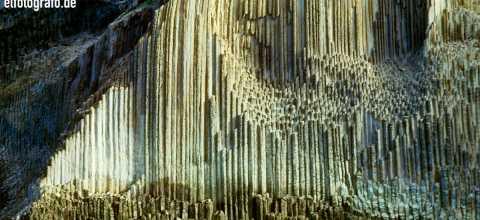 Los Organos Felsen auf La Gomera