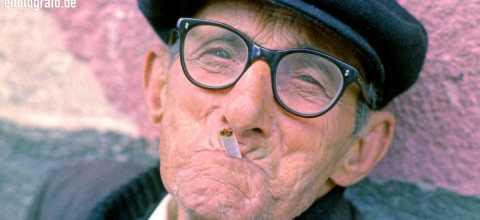 Alter Mann auf La Gomera
