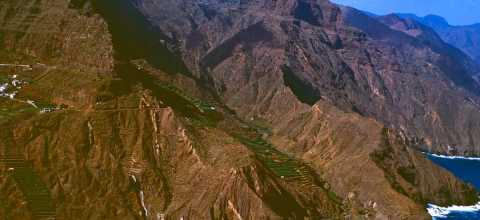 Küste von La Gomera