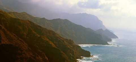 Felsenküste von La Gomera