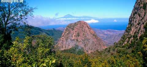 El Roque auf La Gomera