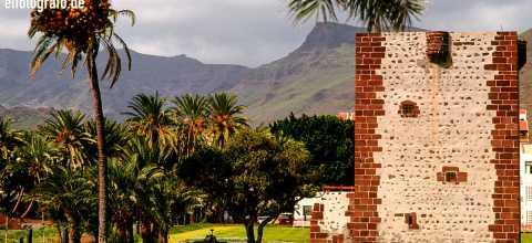 Torre del Conde in San Sebastian auf La Gomera