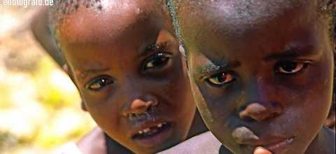 Kinder in Lesotho