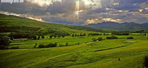 Landschaft in Lesotho