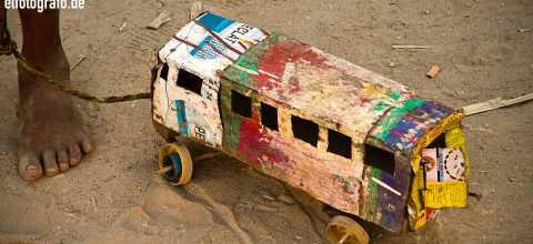 Spielzeug auf Madagaskar
