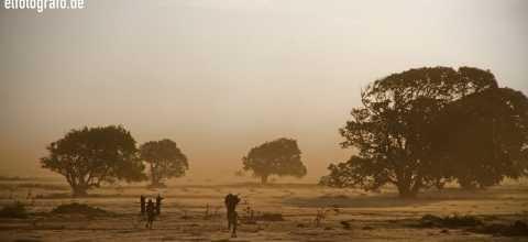 Sandsturm auf Madagaskar