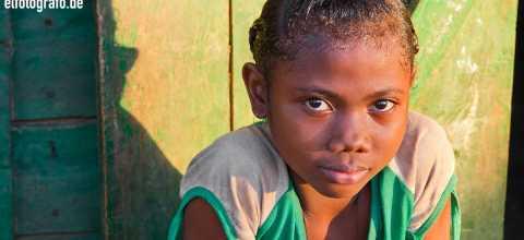 Mädchen auf Madagaskar