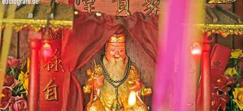 Tempelfigur in Malaysia