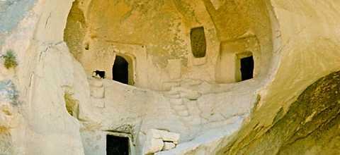 Höhlenhäuser in Marokko