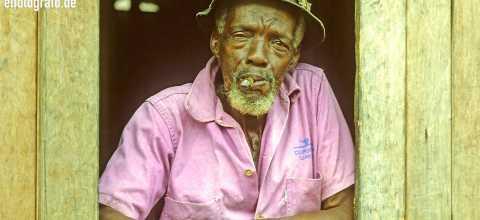 Mann in Südamerika