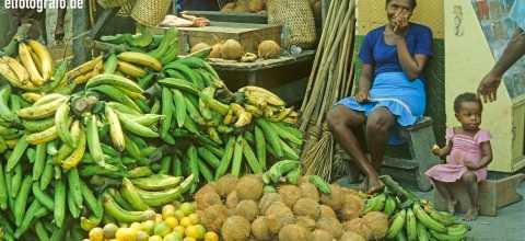 Markt in Südamerika