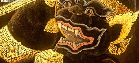 Tempelmalerei in Thailand