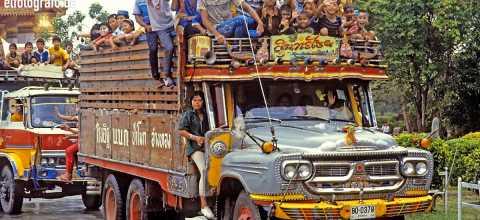 Strassenfest in Thailand