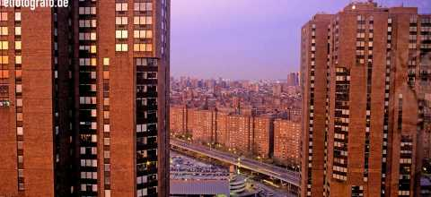 Wohnhäuser in New York