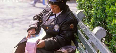 Ticket officer in New York