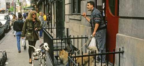 Strassenleben in Soho New York
