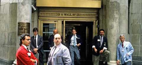 Wall Street Manhattan New York